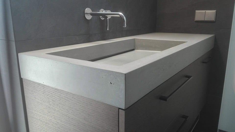 Poliruoto betono kriauklė